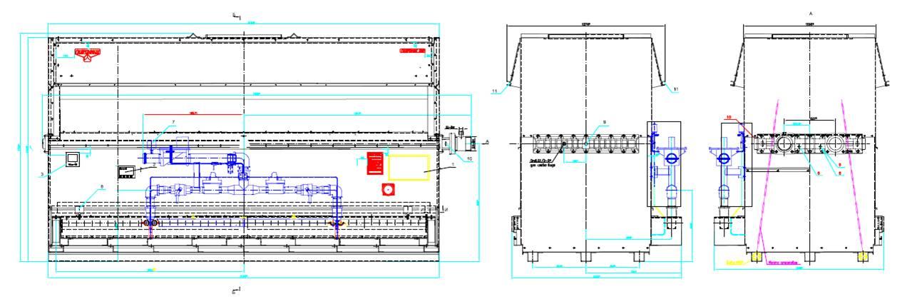 Теплообменник для котла гидроник 580 Кожухотрубный испаритель Alfa Laval DXS 35 Хасавюрт